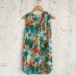 BEACH LUNCH LOUNGE FLORAL DRESS SP